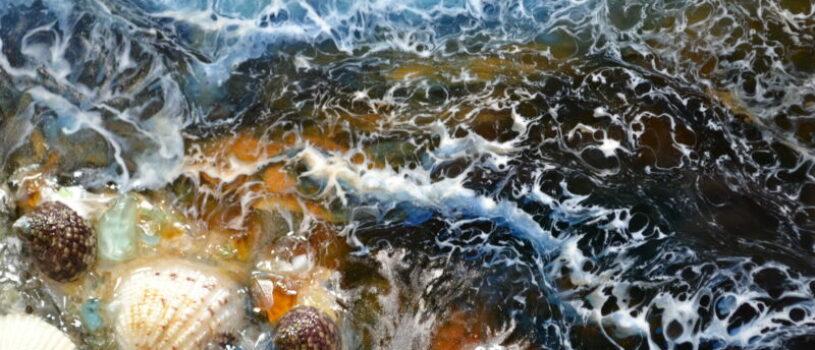 МастерКласс «Игры с эпоксидной смолой: Resin Art и простая заливка». 8 декабря (воскресенье) 2019 г.