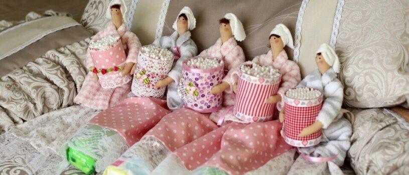 МастерКласс по шитью текстильной Куклы — Феи, Хранительницы ватных палочек и ватных дисков!!! 19 мая (воскресенье) 2019 г.